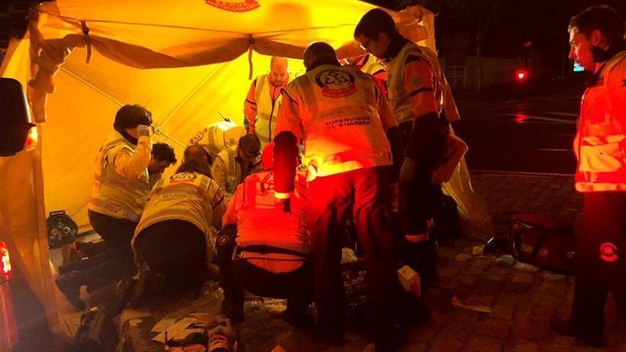 Fallece un joven de 26 años en Madrid tras perder el control de su moto