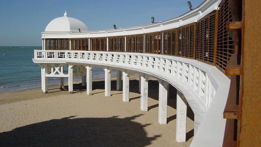 Balneario de La Palma.