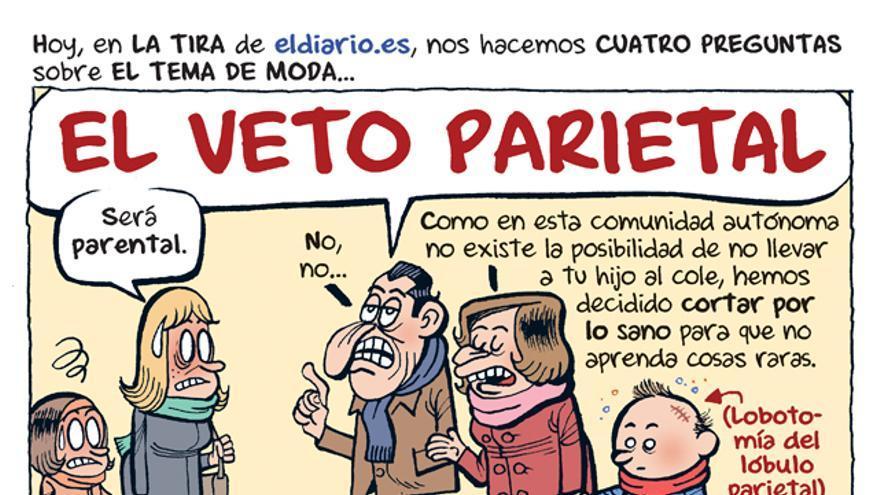 El veto parietal
