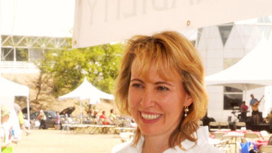 Gabrielle Giffords. (EUROPA PRESS)