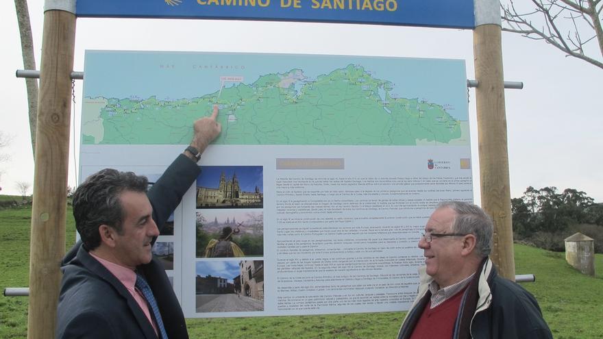 """Los Caminos de Santiago por la Costa y Lebaniego contarán con señalización """"renovada y coherente"""""""