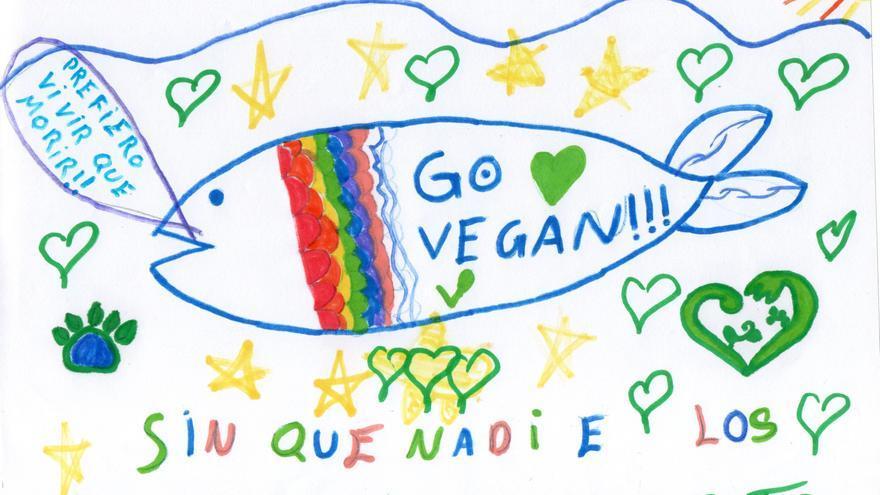 Familias veganas reclaman menús escolares libres de crueldad