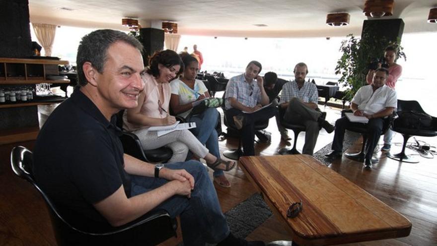 De la rueda de prensa de Zapatero #3