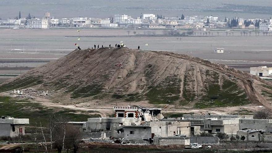 El responsable militar de EE.UU. visitó en secreto a las fuerzas kurdas en Siria