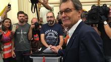 """Artur Mas afirma que aún no hay """"todo lo necesario para la independencia real de Catalunya"""""""
