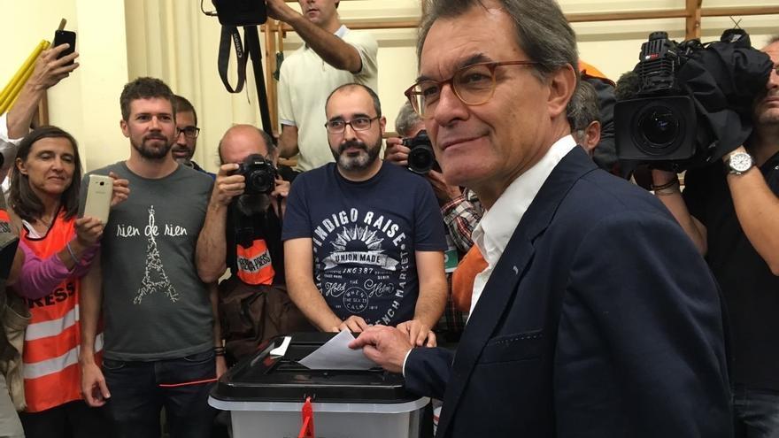 """Artur Mas dice que Cataluña no está lista para """"la independencia real"""""""