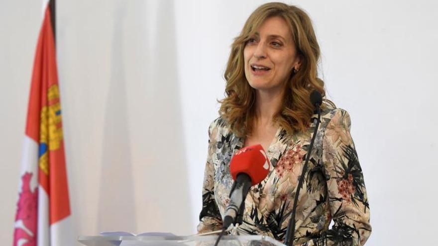 Mar Sancho el pasado mes de mayo en su etapa como directora general de Políticas Culturales de la Junta de Castilla y León.