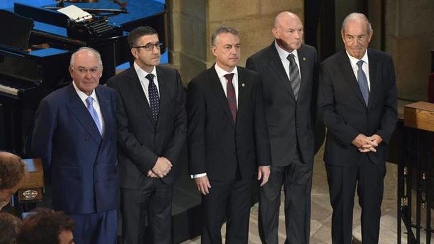 Ardanza, López, Urkullu, Ibarretxe y Garaikoetxea