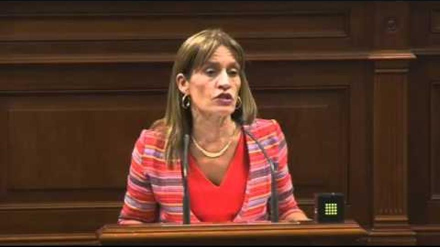 Esther González, diputada de Nueva Canarias en el Parlamento de Canarias.