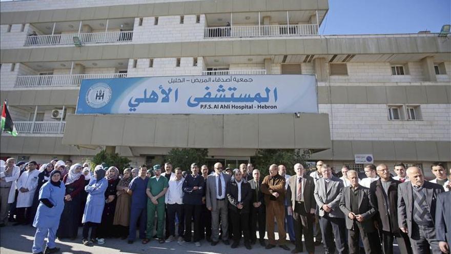 Un palestino muere en una incursión de las fuerzas israelíes en un hospital de Hebrón
