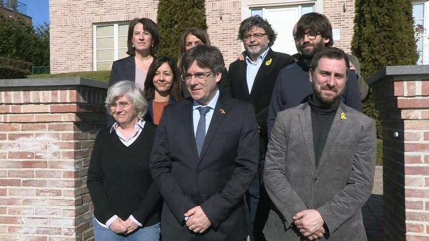 La Junta Electoral Central proclama como candidatos a las europeas a Puigdemont, Comín y Ponsatí