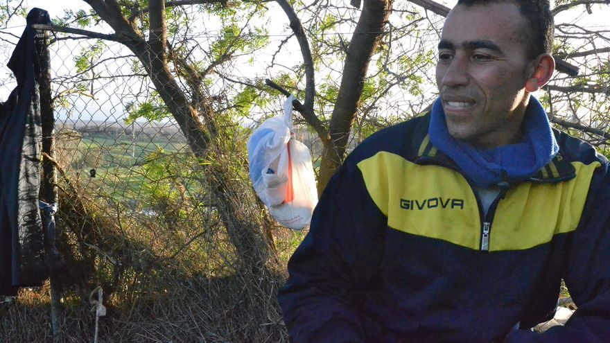 Mohamed Achkar, el último readmitido en el CETI, pocos días después de su expulsión   N.C.