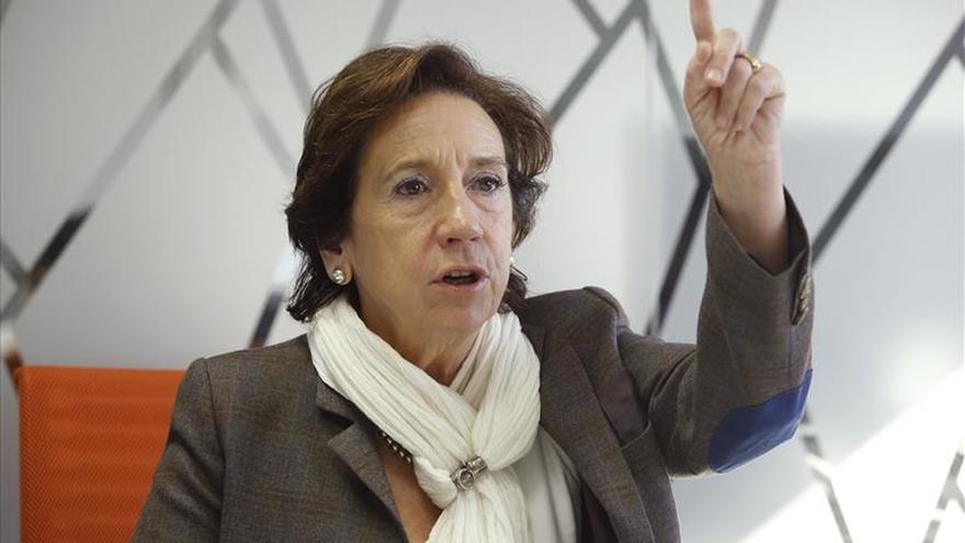 Victoria Prego, presidenta de la Asociación de la Prensa de Madrid.
