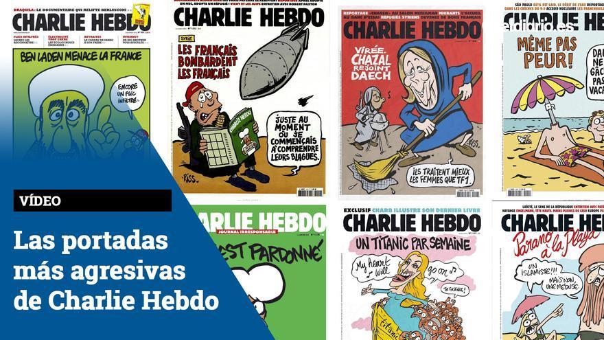 Las portadas más agresivas de Charlie Hebdo
