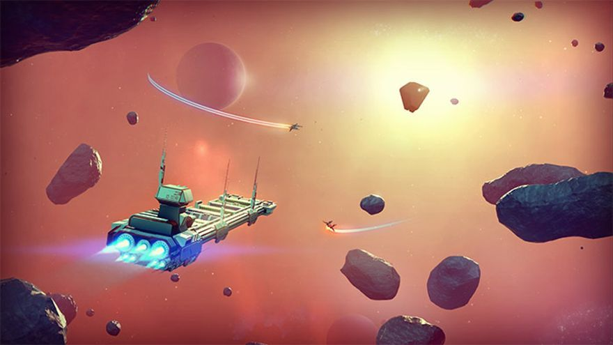 No Man's Sky, uno de los videojuegos que presumen de mundos infinitos.