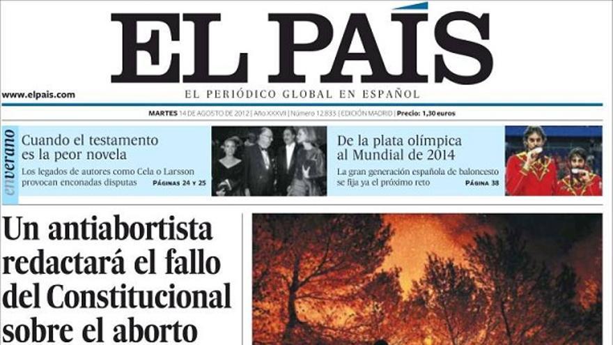 De las portadas del día (14/08/2012) #8