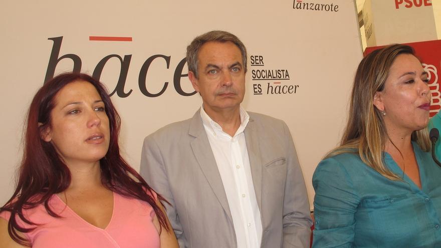 """Zapatero: """"Estamos muy afectados por la noticia"""""""