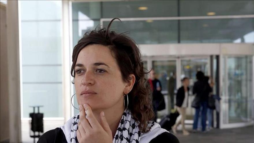 """La parlamentaria catalana retenida en Gaza dice que los palestinos están """"encerrados"""""""