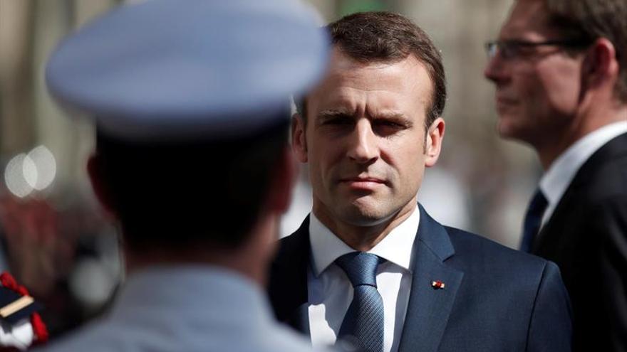 La popularidad de Macron sube por su gestión de las huelgas