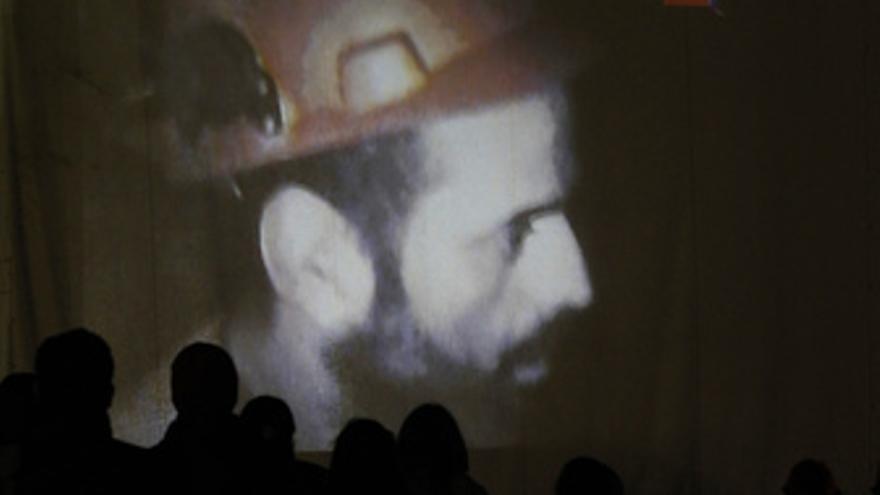 Mineros atrapados en Chile.