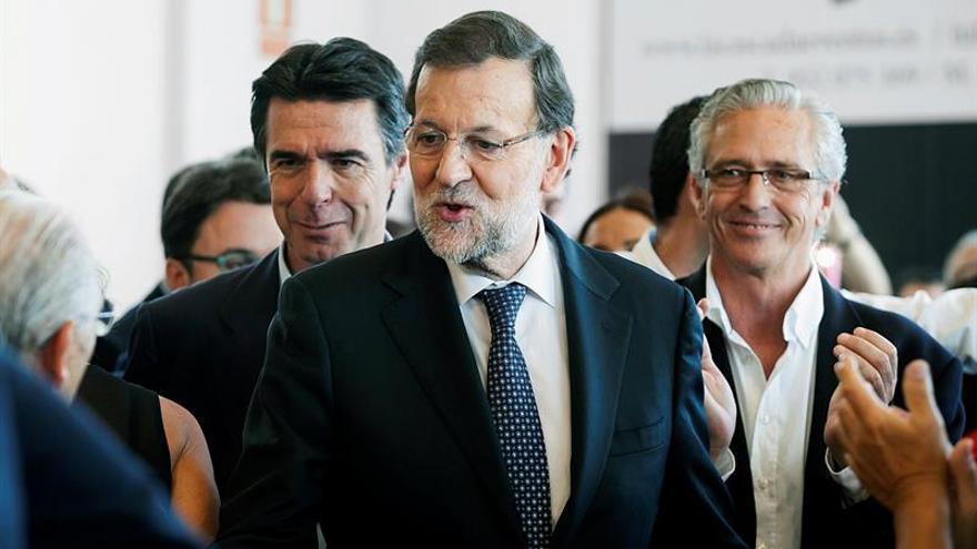 Acto de campaña del PP en Tenerife. (EFE).
