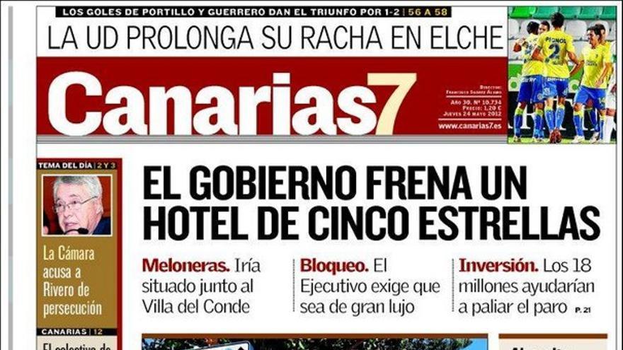 De las portadas del día (24/05/2012) #2