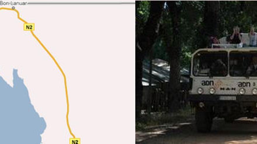''El vehículo con los secuestrados iba a tres kilómetros de la caravana''