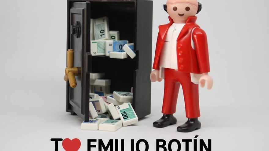 I love Emilio Botín