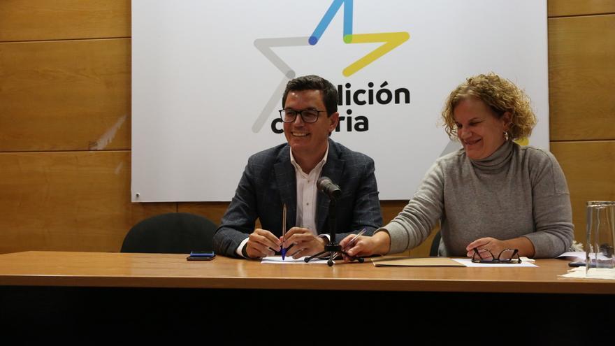 Reunión del Comité Político de Coalición Canaria este jueves 12 de diciembre.