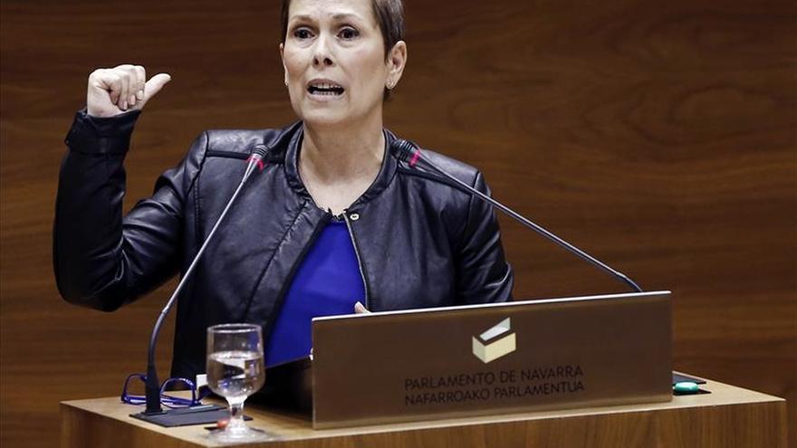 La presidenta de Navarra declara luto y convoca una concentración