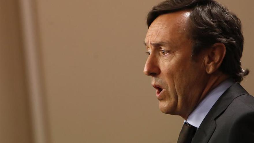"Hernando (PP) advierte al independentismo: ""Nadie va a destruir España"""