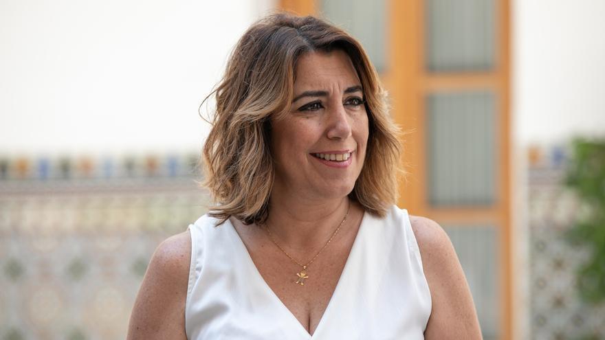 """Susana Díaz destaca el esfuerzo """"inédito"""" del Gobierno con la financiación y acusa a Moreno de buscar """"confrontación"""""""