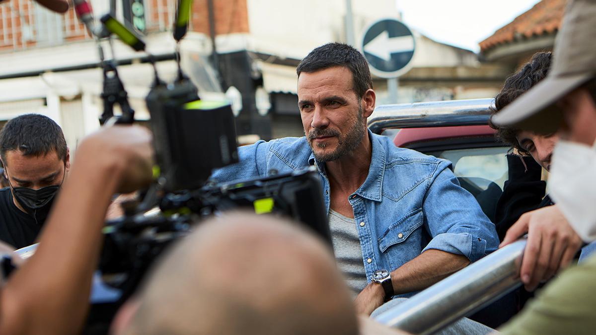 Daniel Grao en el rodaje de la segunda temporada de 'HIT'