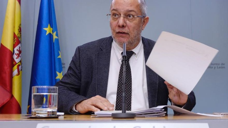 El vicepresidente de la Junta de Castilla y León y líder de Cs en esta Comunidad, Francisco Igea.