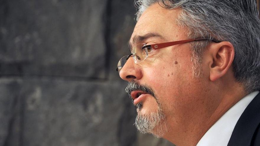 El portavoz del Gobierno de Canarias, Martín Marrero   Europa Press