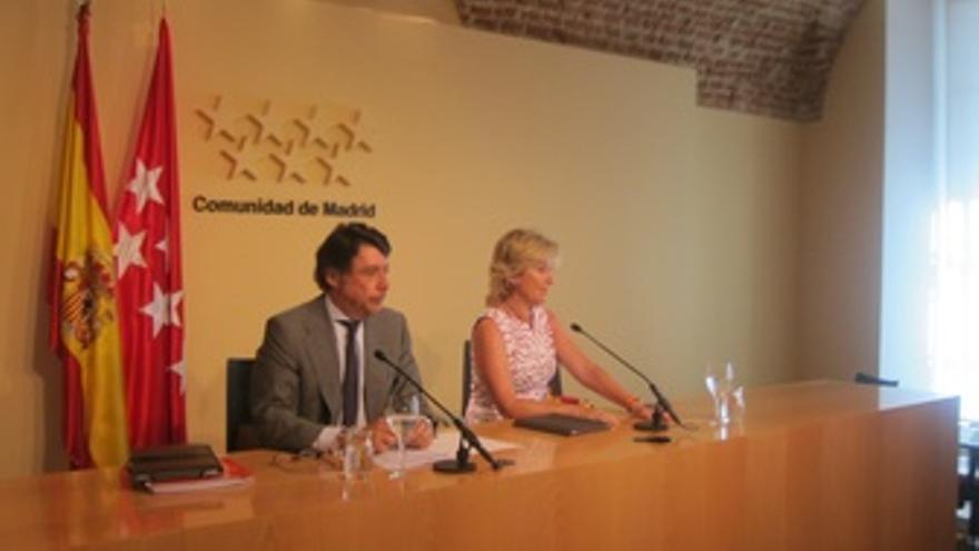 Ignacio González y Esperanza Aguirre en el Consejo de Gobierno