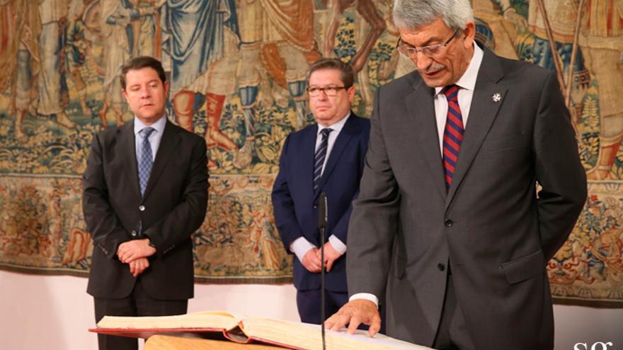 Joaquín Sánchez Garrido, asumiendo en el Consejo Consultivo