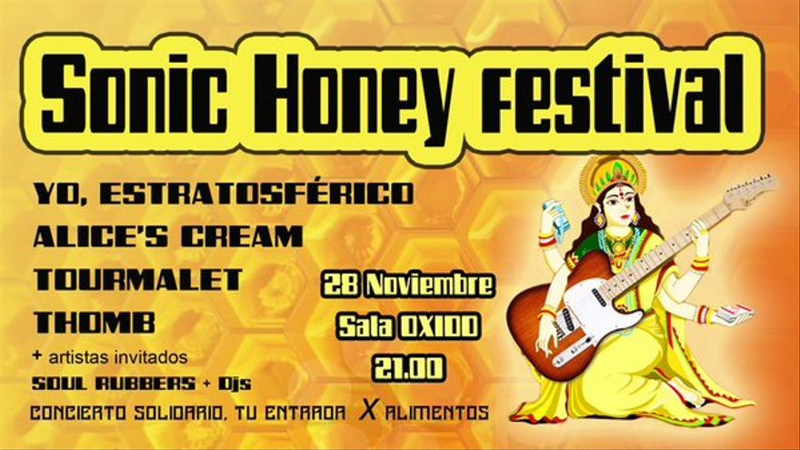 Cartel del Sonic Honey Festival