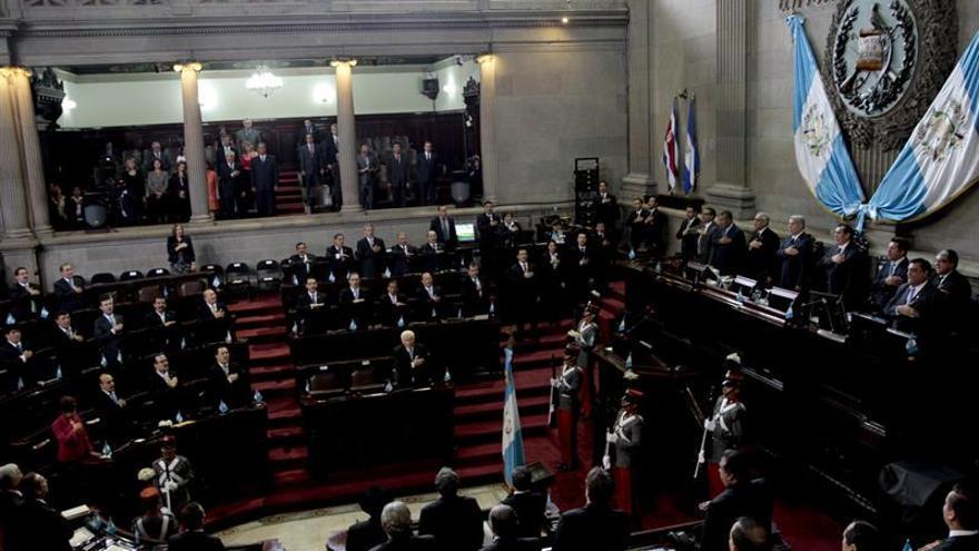 El opositor Chinchilla es elegido nuevo presidente del Congreso de Guatemala