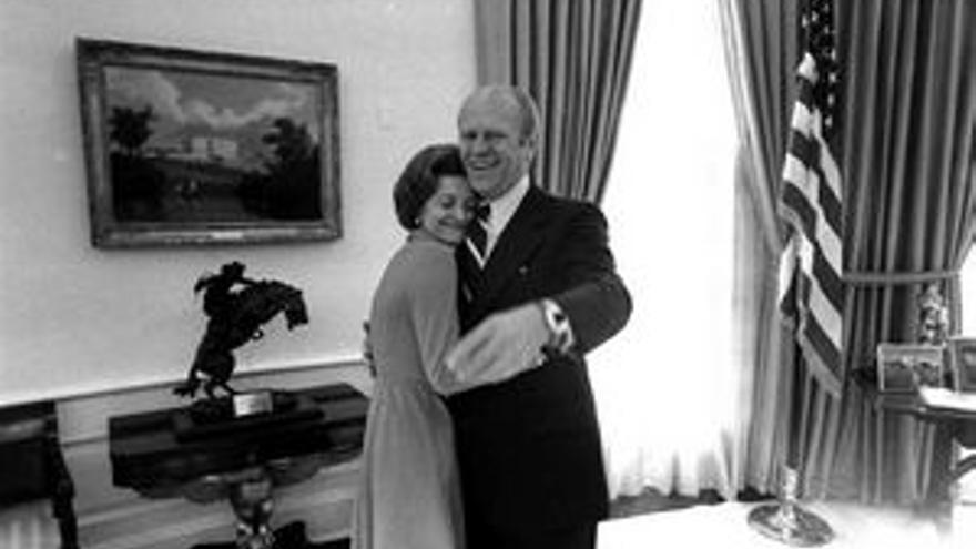 Betty y Gerald Ford, en una imagen de archivo.