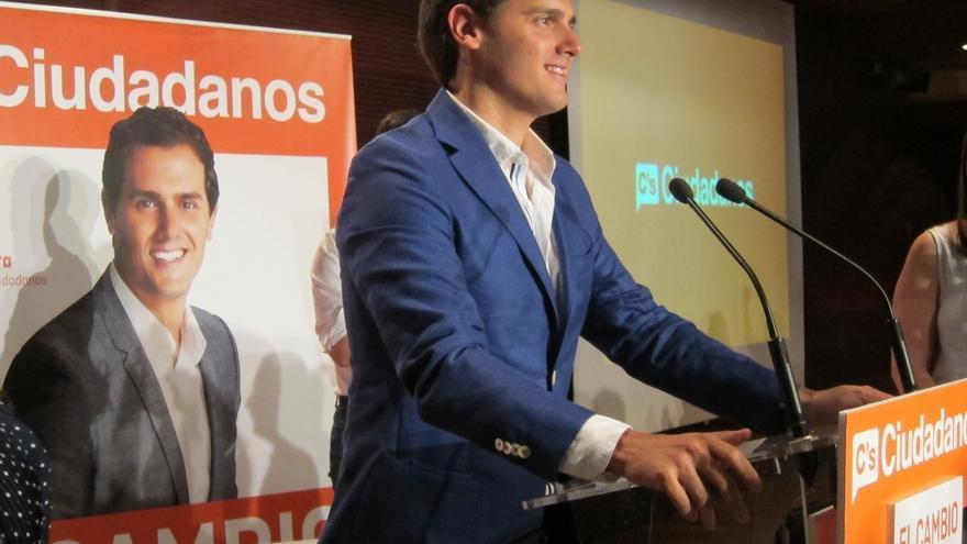 El mailing de C's en Madrid ignora a los candidatos locales y solo aparece la fotografía de Rivera