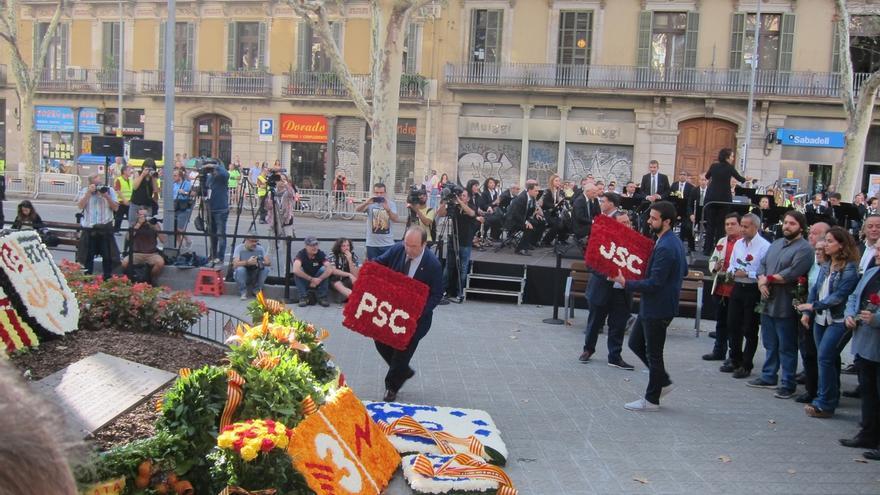 """Iceta (PSC) reivindica una Cataluña """"de todos"""" y no solo de los independentistas"""