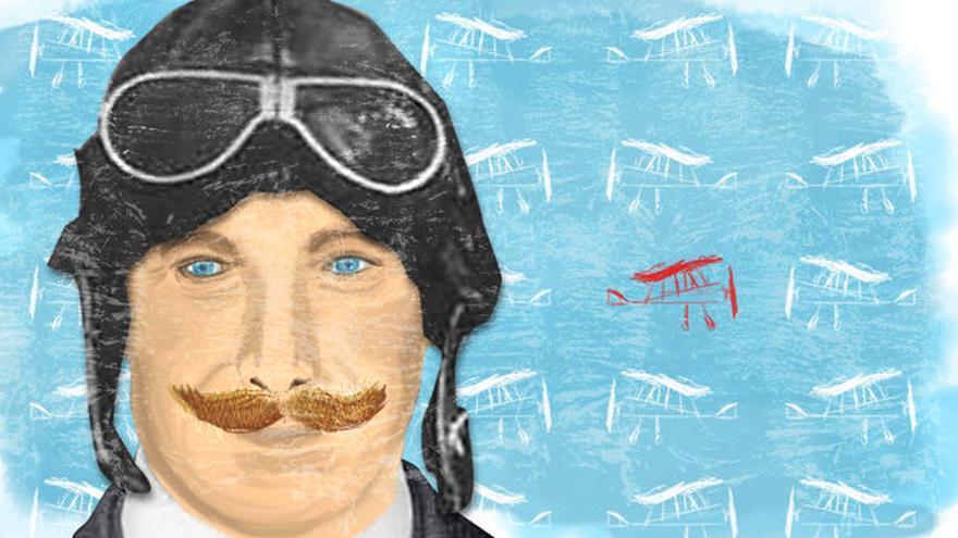 Salvador Hedilla, una aventura en el cielo