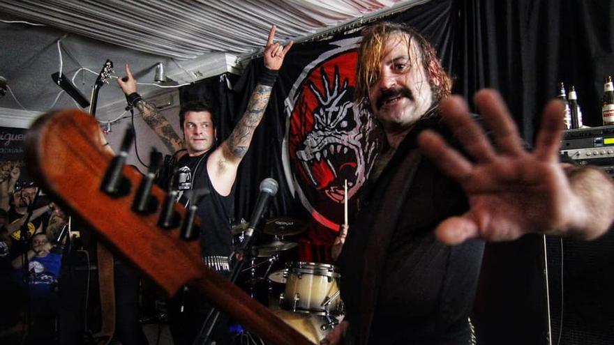 El grupo bilbaíno Rat-Zinger en concierto.