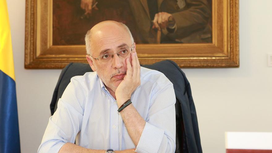 Antonio Morales, presidente del Cabildo de Gran Canaria (ALEJANDRO RAMOS)