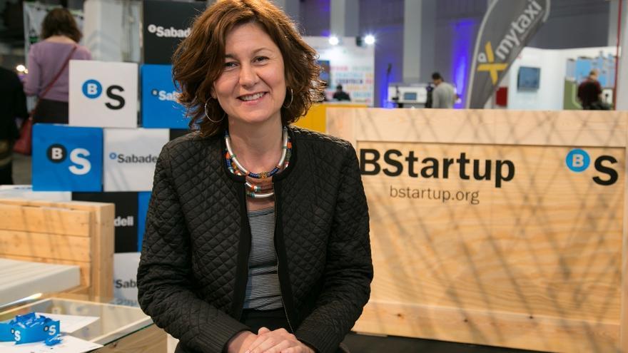 Yolanda Pérez, directora de BStartup del Banco Sabadell.