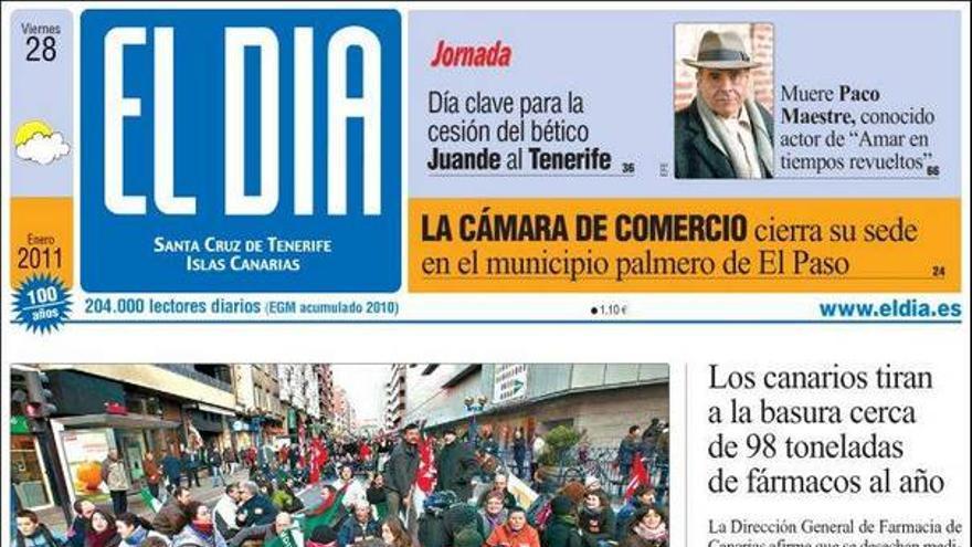 De las portadas del día (28/01/2011) #3