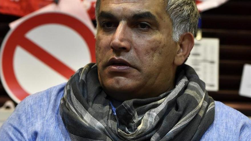 El defensor de derechos humanos bareiní Nabil Rajab.