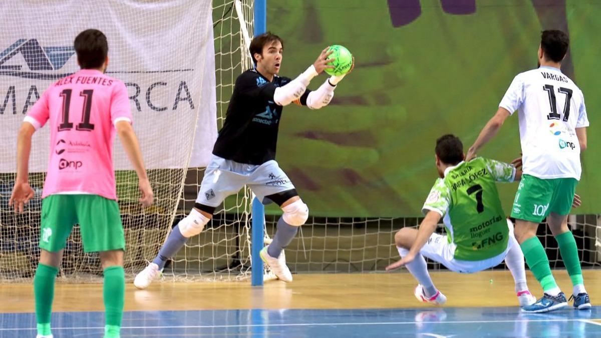 Carlos Barrón durante un encuentro con Palma
