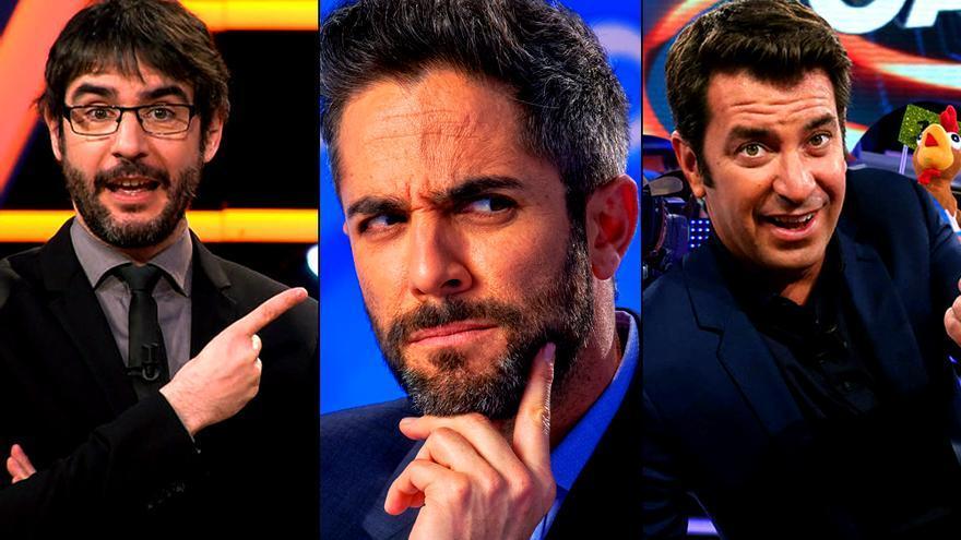 Juanra Bonet, Roberto Leal y Arturo Valls, las caras de la tarde de Antena 3